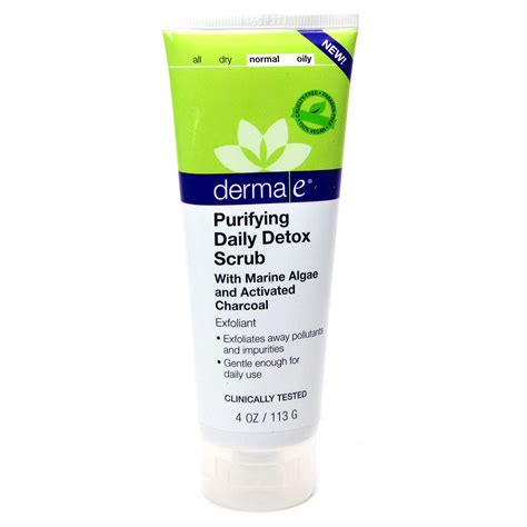 Derma E Purifying Daily Detox Scrub by Purifying Daily Detox Scrub By Derma E 4 Ounces
