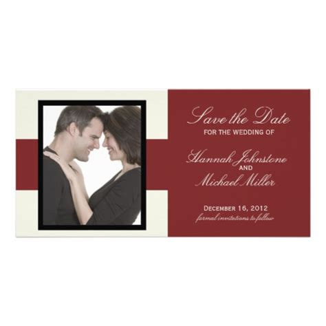 save the date card templates free save the date photo card template zazzle