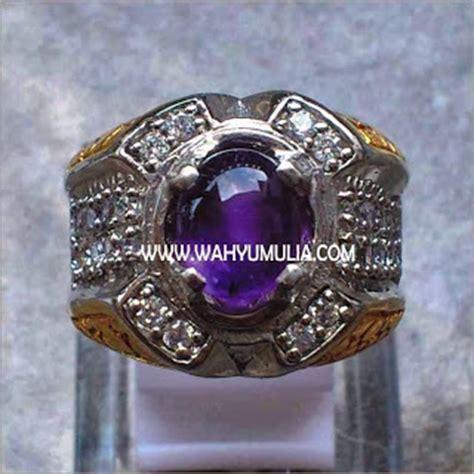 Cincin Amethys 001 jual batu kecubung ungu amethyst sold permatasatu