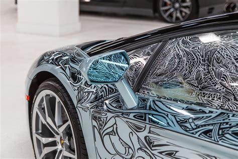 Auto Tuning Jona by Lamborghini Aventador Painted By Jona Cerwinske For Art