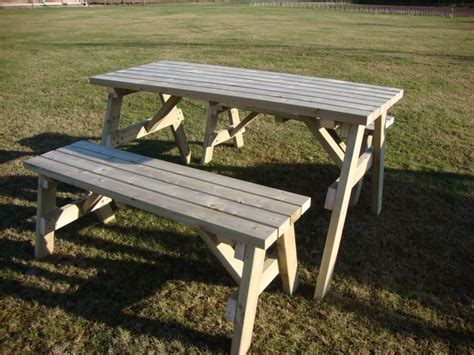 picnic table bench height picnic table and bench set