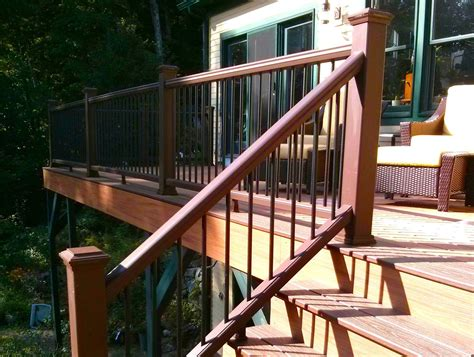how to build a banister on a staircase how to build a deck stair railing the spokesman review