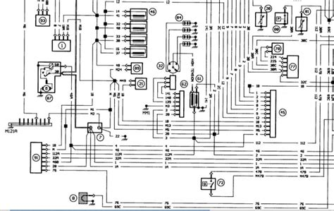 peugeot 306 ignition switch wiring diagram peugeot