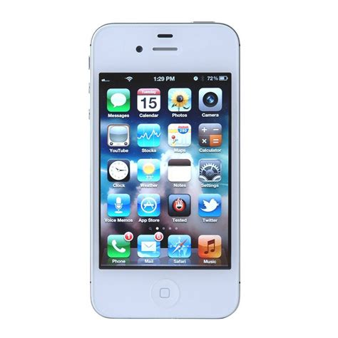 apple iphone 4s apple 3 5 quot iphone 4s 1ghz 8gb 3g for at t white mf258ll a