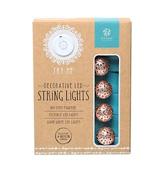 order home collection string lights upc 694202120774 order home collection 174 10 moroccan led