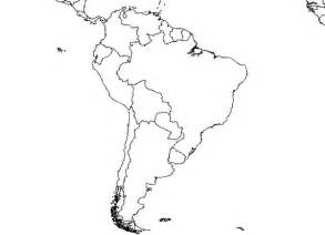 south america blank map free images at clker