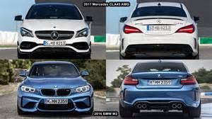 benim otomobilim 2017 mercedes cla45 amg vs 2016 bmw m2