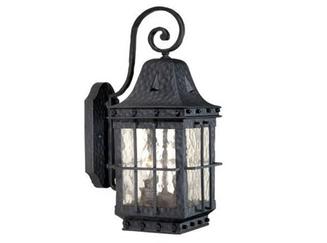 Wrought Iron Outdoor Lighting Fixtures Edinburgh Outdoor 1 L Vaxcel 7 Inch Wrought Iron Wall Fixture Sale Ed Owd070tb Ebay