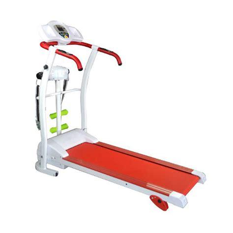 Alat Treadmill Shaga ha 150 total fit treadmill elektrik 3in1 manual incline papan lari alat olahraga pelangsing