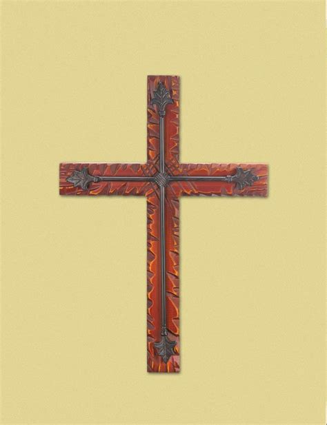 Wholesale Crosses Home Decor by Wood Iron Wall Cross Wholesale At Koehler Home Decor