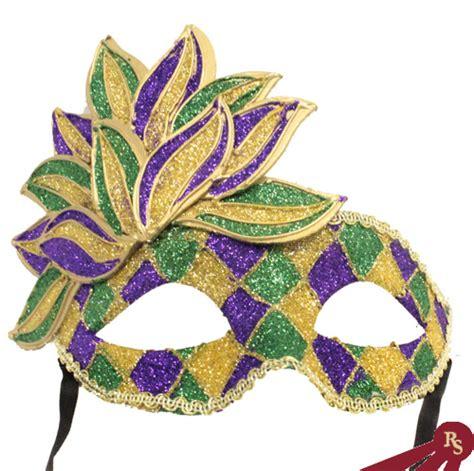 Paper Mache Home Decor by Fancy Mardi Gras Mask Carnival Masks Venetian Costume