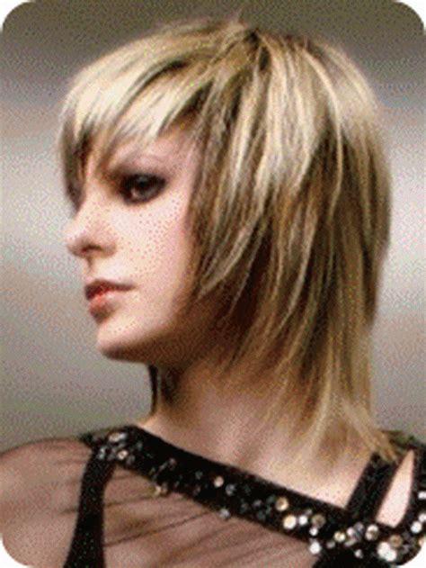 edgy haircuts shoulder length edgy medium length haircuts