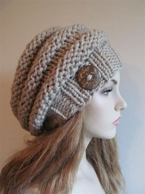 knitting beanie best 25 slouch beanie ideas on crochet