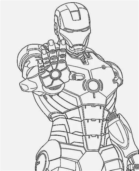 easy iron man coloring page iron man coloring pictures free coloring pictures
