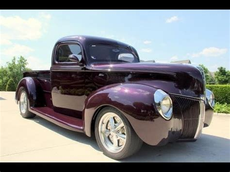 1940 ford pickup street rod classic muscle car for sale in