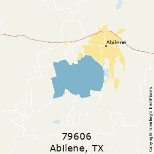 abilene texas zip code map best places to live in abilene zip 79606 texas