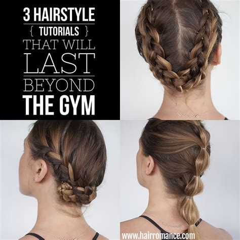 hairstyles short hair gym workout hairstyles for shoulder length hair hair
