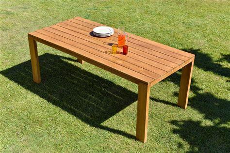 table de jardin malang en teck oogarden