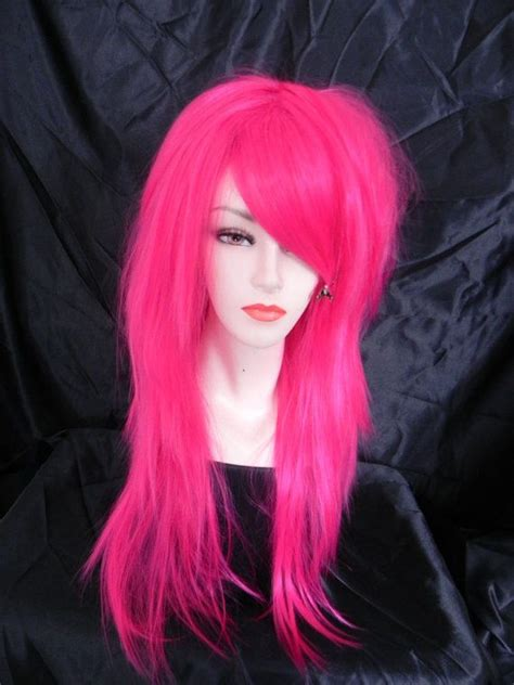 hot pink wigs hairturners