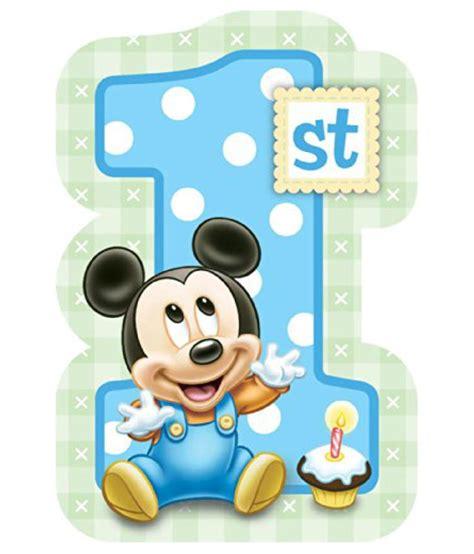 St Mickey Kid 1 baby mickey mouse 1st birthday invitations 8 invites disney supplies buy baby mickey