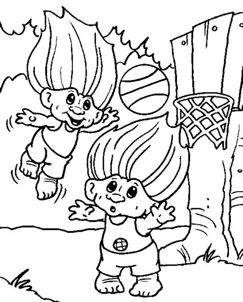 coloring pages of trolls troll coloring pages for kids coloringpagesabc com