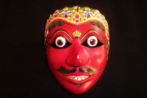 Masker Topeng klana topeng classical mask from java dunedin eventfinda