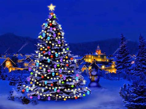 animated christmas wallpapers    pc laptop  desktop merry christmas  wishes