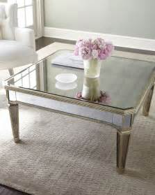 Coffee Tables Mirrored Quot Amelie Quot Mirrored Coffee Table