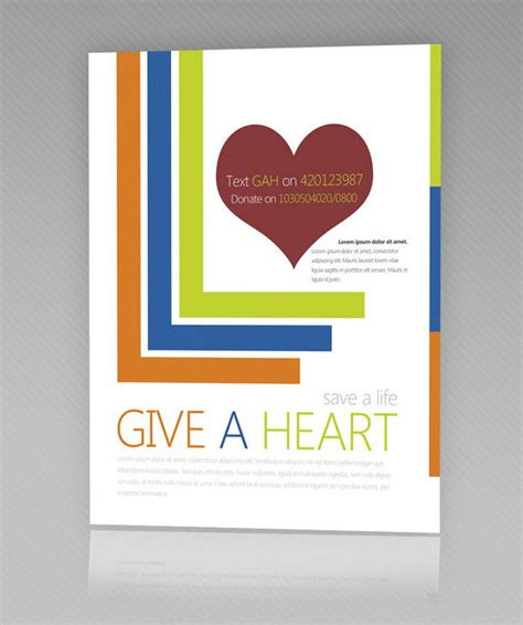 donation flyer template free 7 free flyer templates for non profit organizations