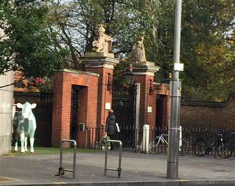 nottingham cottage at kensington palace nottingham prince harry s girlfriend meghan markle visits london