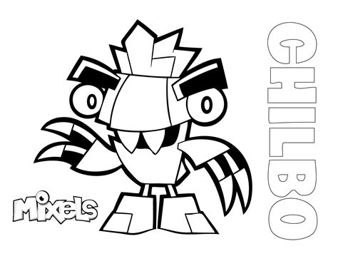 coloring pages lego mixels mixels coloring pages eric s activity pages page 3