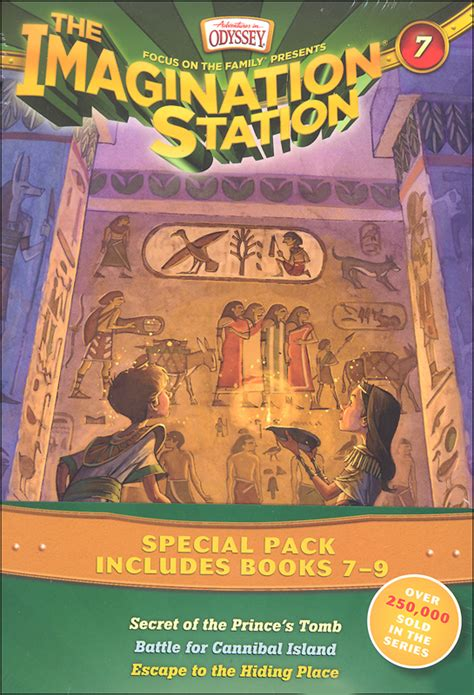 9 just in time adventures in odyssey books imagination station books 7 9 pack adventures in odyssey