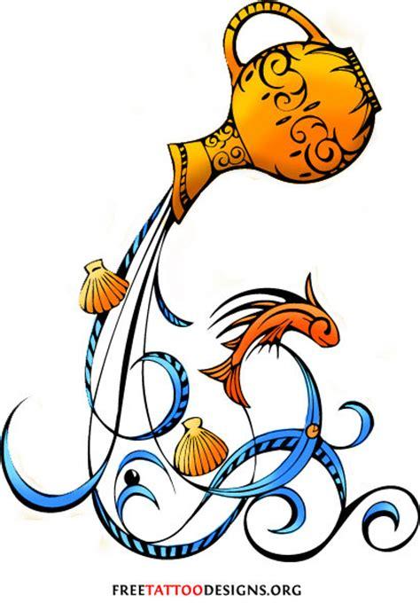 aquarius design tattoos 35 cool aquarius designs aquarius sign tattoos