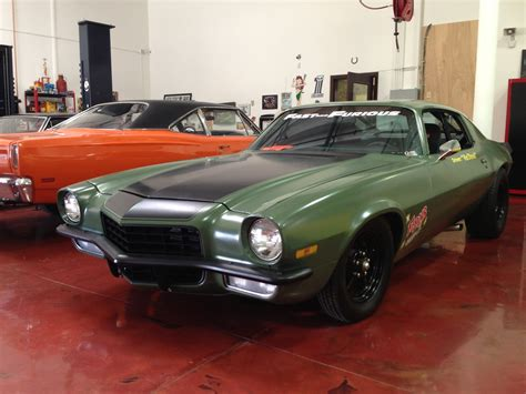 fast camaro 1969 chevrolet camaro f bomb fast and furious4 by