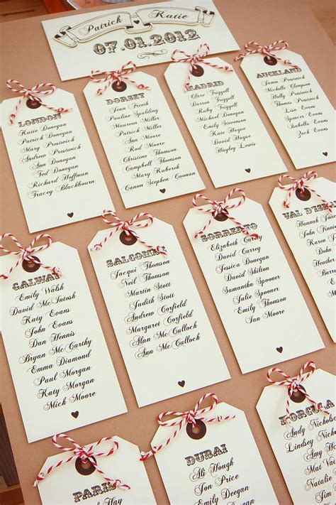 Table Names Wedding Fly Away With Me Luggage Tag Table Plan By Sue Design Co Notonthehighstreet