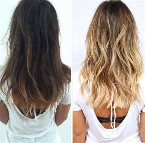brown hair to blonde hair transformations sghaircolor fall transformation i am my hair