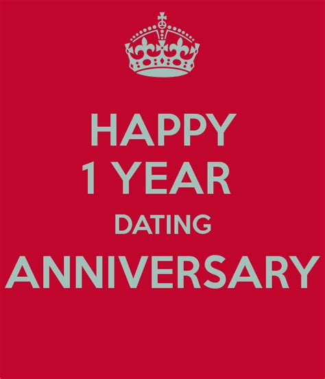 Mba Uk 1 Year by Happy 1 Year Dating Anniversary Poster Amanda Keep