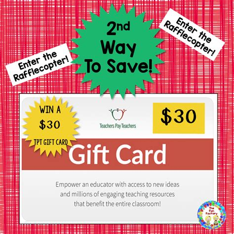 Time Is Almost Up For Shopping by The Factory 30 Tpt Gift Card Give Away And 1 Deals