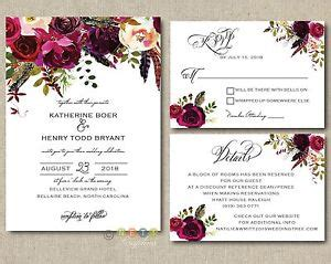 wine and gold template wedding invitation card sle 100 personalized wedding invitations boho burgundy maroon