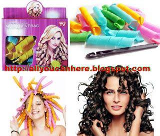 magic leverag alat pengeriting rambut spiral seperti