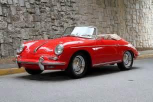 Porsche 1960 Roadster 1960 Porsche 356 Roadster