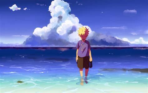 anime on beach anime beach wallpaper download hd anime beach wallpaper