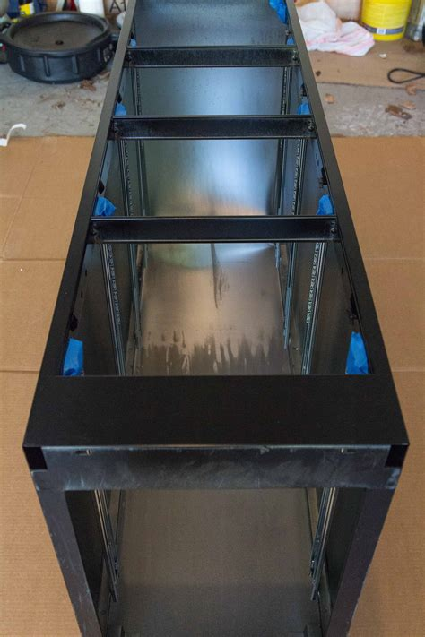 how to paint a metal file cabinet how to paint and makeover a metal file cabinet