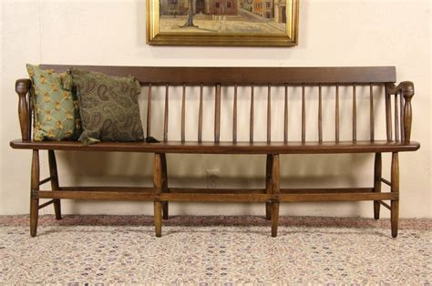 antique deacon bench sold new england carved 1860 s antique 6 deacon or
