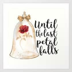 until the last petal falls art print by dorothyreads society6