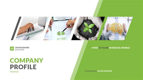 Company Profile Powerpoint Template By Jafardesigns Company Profile Powerpoint Template Free