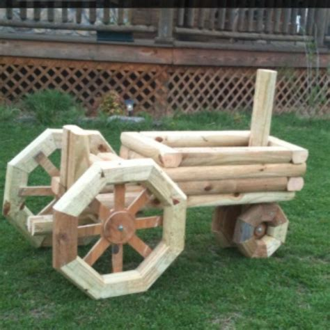 woodworking projects for garden tractor planter craft planters and tractors