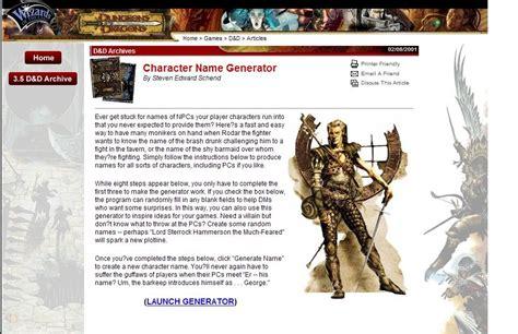 character biography generator librarian d o a character name generators