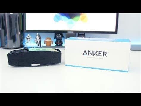 Anker Premium Soundcore Stereo Bluetooth 4 0 Black A3143h11 Ori anker a3143 premium bluetooth speaker soundcheck doovi