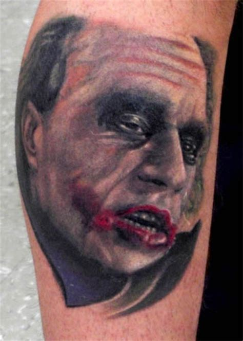 joker tattoo portrait heath ledger joker tattoo picture at checkoutmyink com